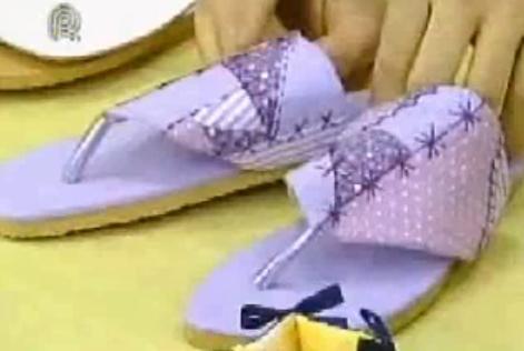 Como hacer sandalias, ojotas, chanclas paso a paso