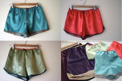 Como hacer pantalon corto de saten
