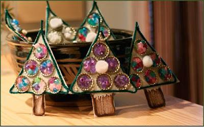 Adornos para navidad con reciclaje