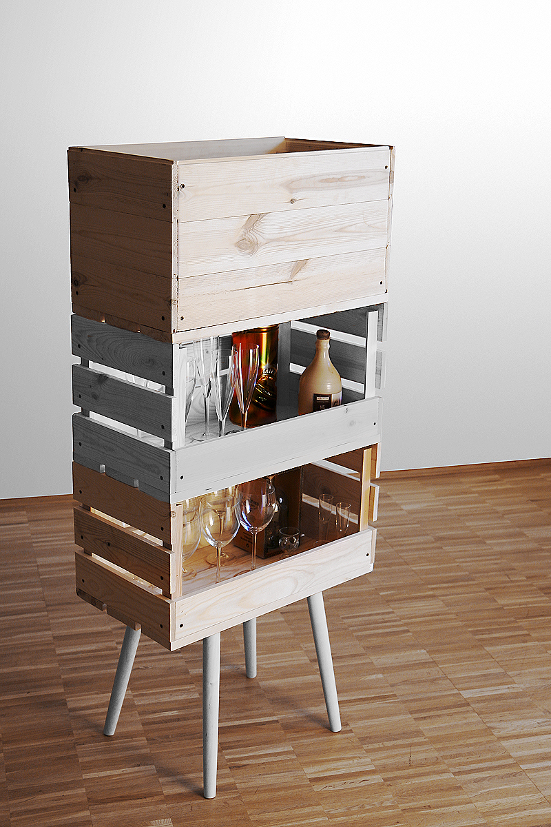Say Hi To Design Wooden Boxes Furniture by Kompott