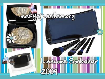 makyaj kozmetik lancome 2009 2010 sonbahar makyaj koleksiyonu güzellik cilt bakımı yeni ürünler