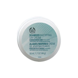 body shop seaweed matifying day cream