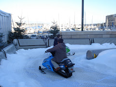Snowmobiling AT THE PORT of Monaco