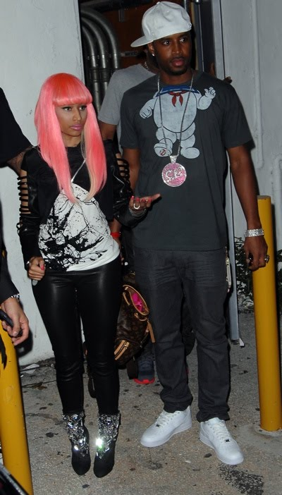 pics of nicki minaj and drake wedding. Minaj was spotted leaving her