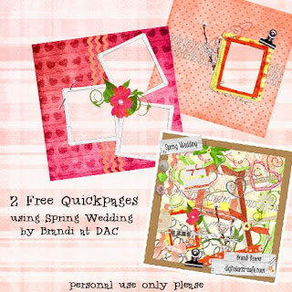 http://brandibeaver.blogspot.com/2009/04/spring-wedding-layouts-and-freebie.html