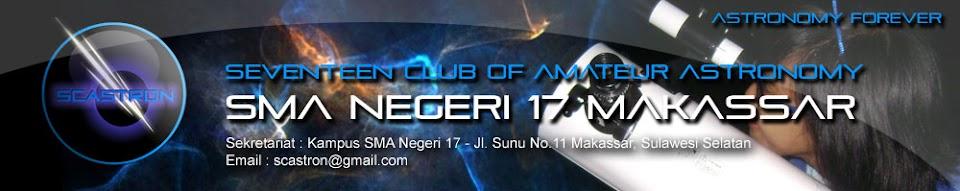 SCASTRON | Seventeen Club of Amateur Astronomy SMA Negeri 17 Makassar