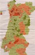 Se consultarmos o mapa de Portugal podemos constatar que a taxa de . (desemprego )