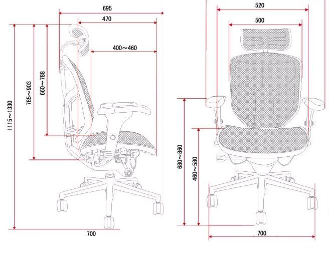 Proporzione Divina Enjoy 121 Ergonomic Office Chair