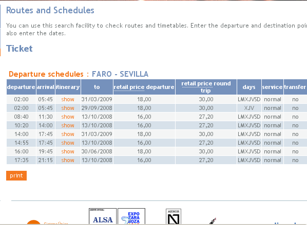 how to get from faro to seville