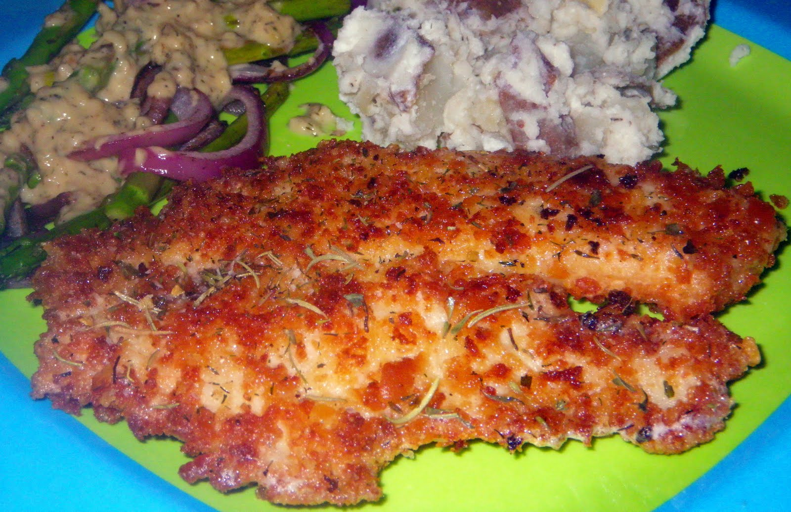 Year on the Grill: Parmesan Crusted Tilapia - 'cause everything tastes ...