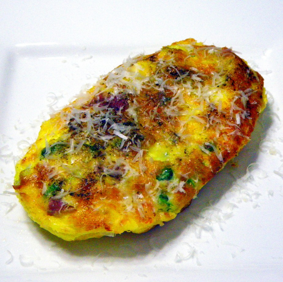 ... on the Grill: Single Serving KooKoo (you may know it as a FRITTATA