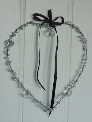 Hjerte med perler