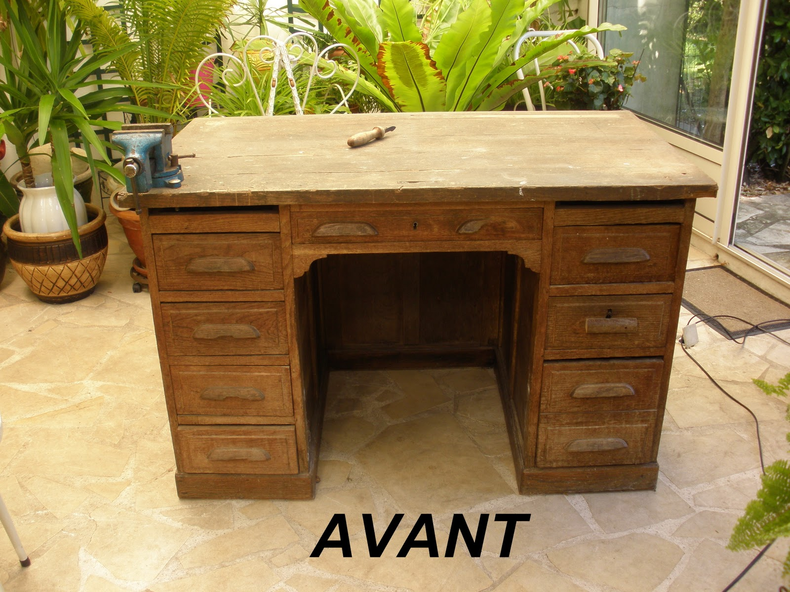 Customiser un bureau en bois - Customiser un bureau en bois ...