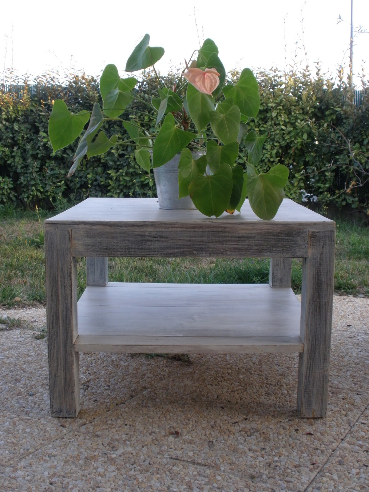 La d co de claire table basse fait maison - Table basse fait maison ...