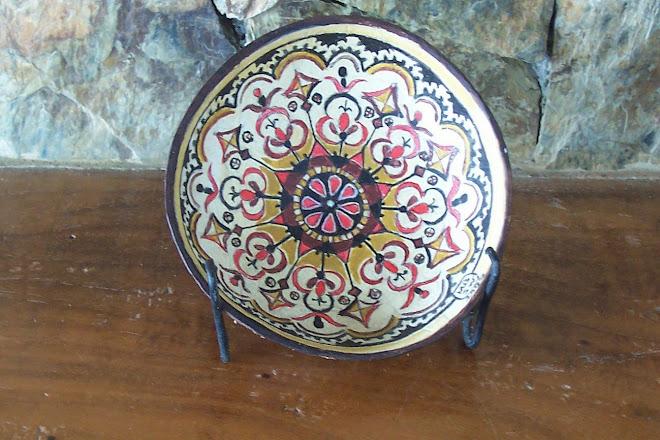 Mindanao tribal motif