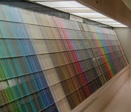 Lost in the Benjamin Moore Paint Chip Display?