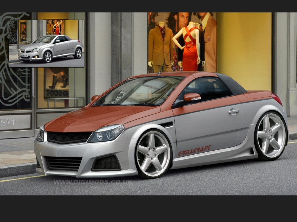 opel tigra and opel astra gtc photoshop tuning virtual. Black Bedroom Furniture Sets. Home Design Ideas