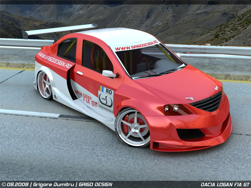 dacia logan fia gt photoshop tuning virtual tuning. Black Bedroom Furniture Sets. Home Design Ideas