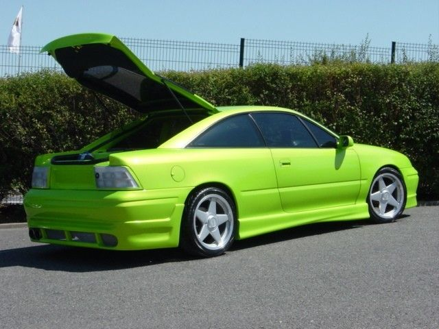 opel calibra tuning green edition photoshop tuning. Black Bedroom Furniture Sets. Home Design Ideas