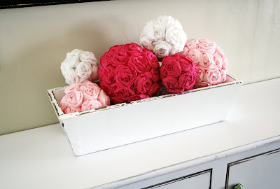 More crepe paper rose ball forms mightylinksfo