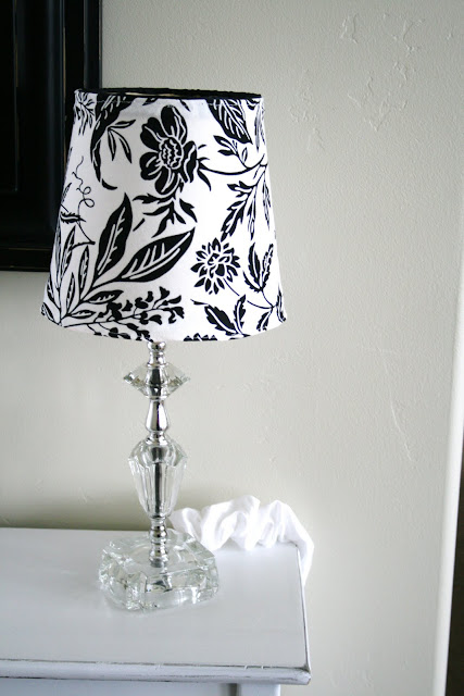 slip cover for lampshade tutorial. Black Bedroom Furniture Sets. Home Design Ideas