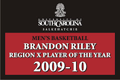 2009-2010 Region X Player of the Year, Brandon Riley