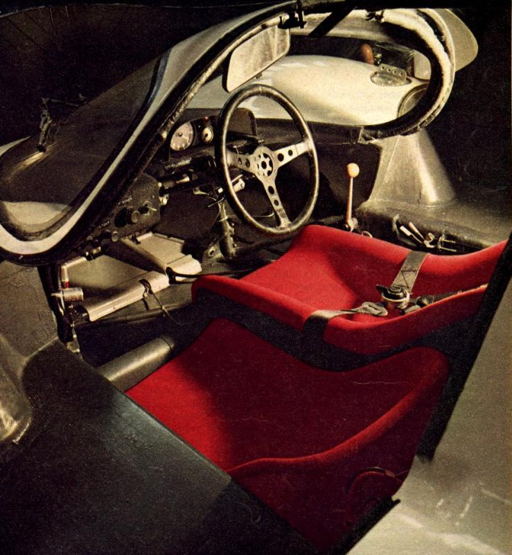 Porsche 911 Engine Test Stand: NUMERO 13: 917 Cockpit