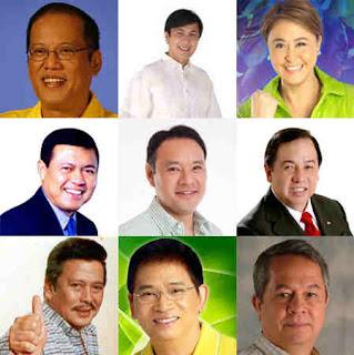 Philippine Presidential Candidates