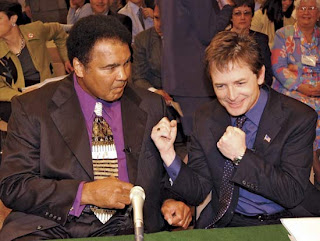 muhammad ali, michael fox, parkinson disease, neurologic disorder