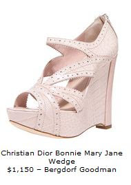 Mary Jane by Christian Dior
