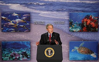George w bush the ocean president