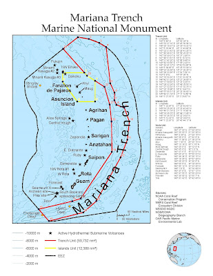 marianas trench marine national monument
