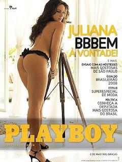 playboy, capa playboy, mulher nua, big brother brasil, BBB8, mulher pelada, ex-BBB, juliana góes