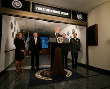 President Bush - National Security Agency - Carroll County MD USA
