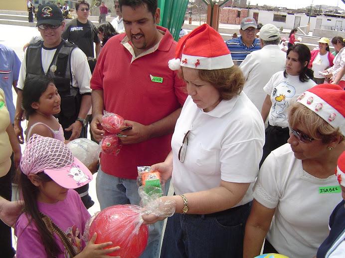 FELIZ NAVIDAD 2007 A LOS NIÑOS DE SJM