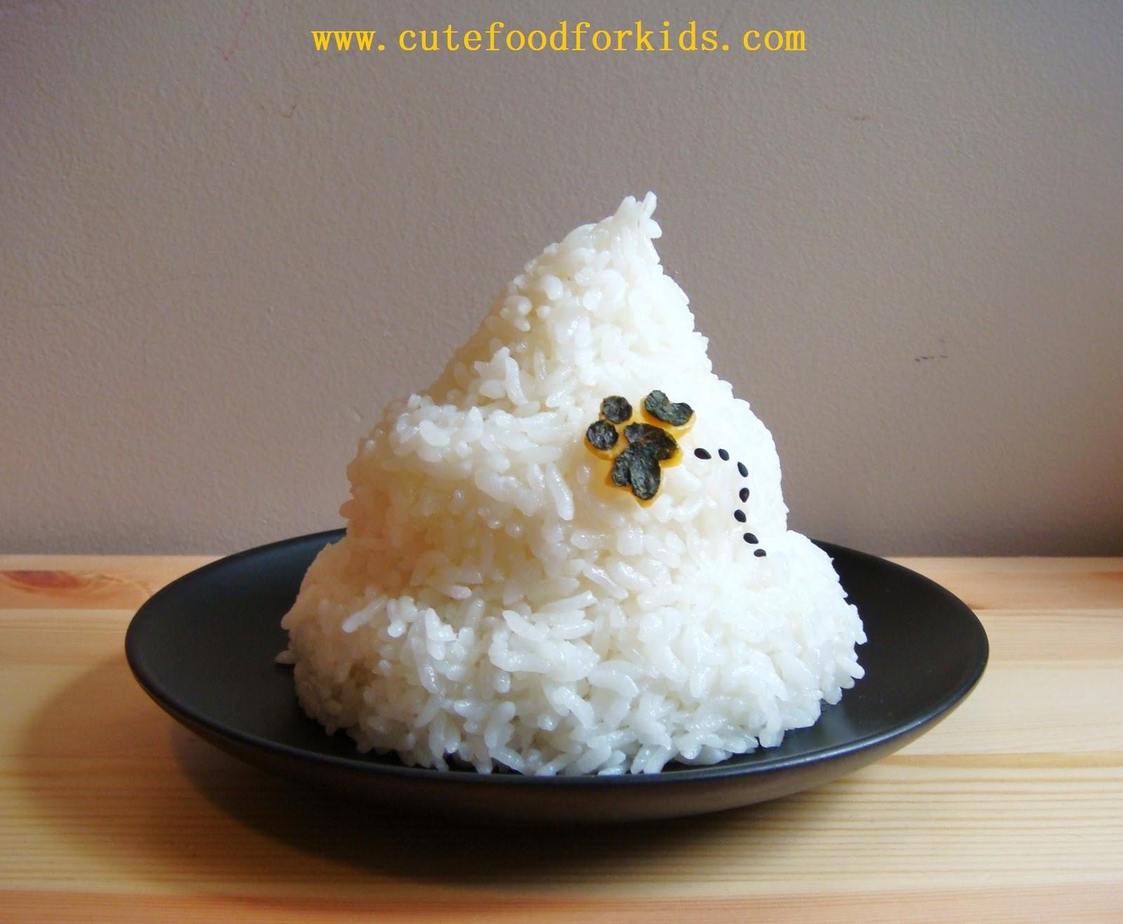 Rice Sculpture