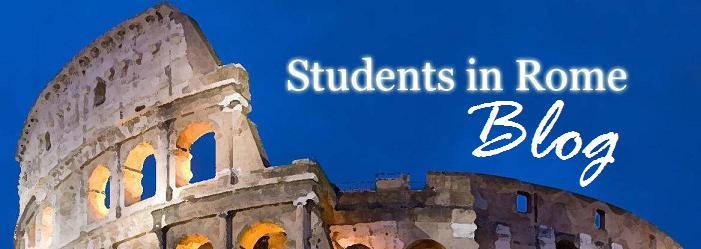 Students in Rome Blog