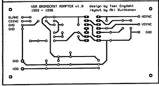 vga to tv converter circuit