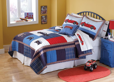 Hot Wheels Queen Size Bedding