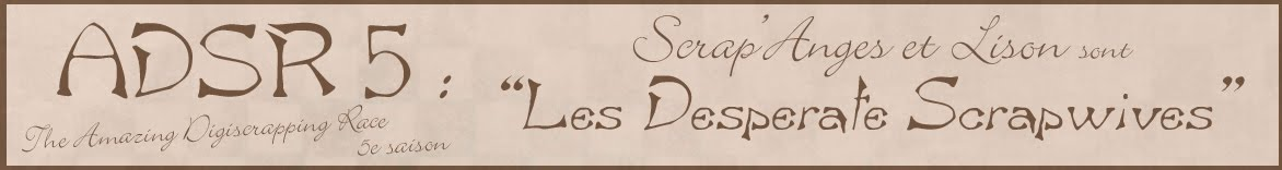 ADSR 5 : Scrap'Anges et Lison