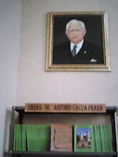 Antonio Cacua Prada, historiador nacido en San Andrés.
