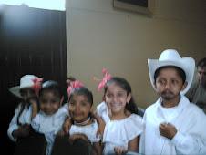 Estudiantes de Onzaga.