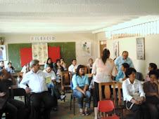 Taller con maestros de San Andrés y Pangote.