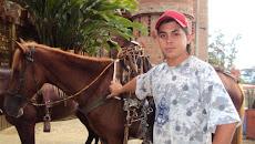 Recibimos las visitas de los aficionados a las cabalgatas, con sus hermosos caballos..