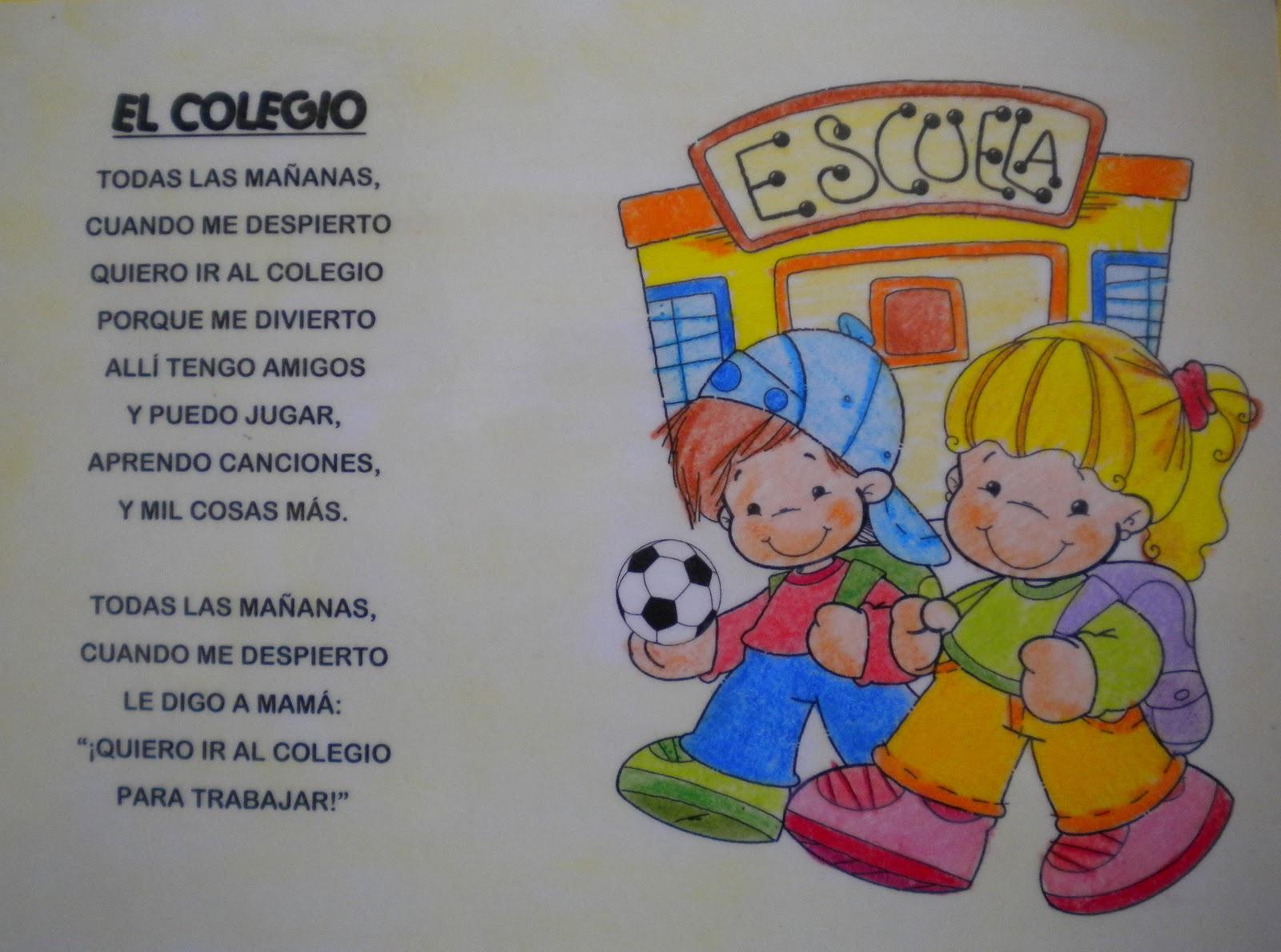 Poema El Colegio