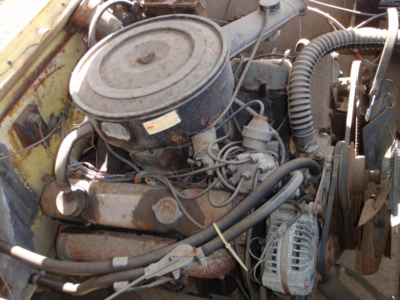 the cynical gearhead: Chrysler 400 big block spray can rebuild