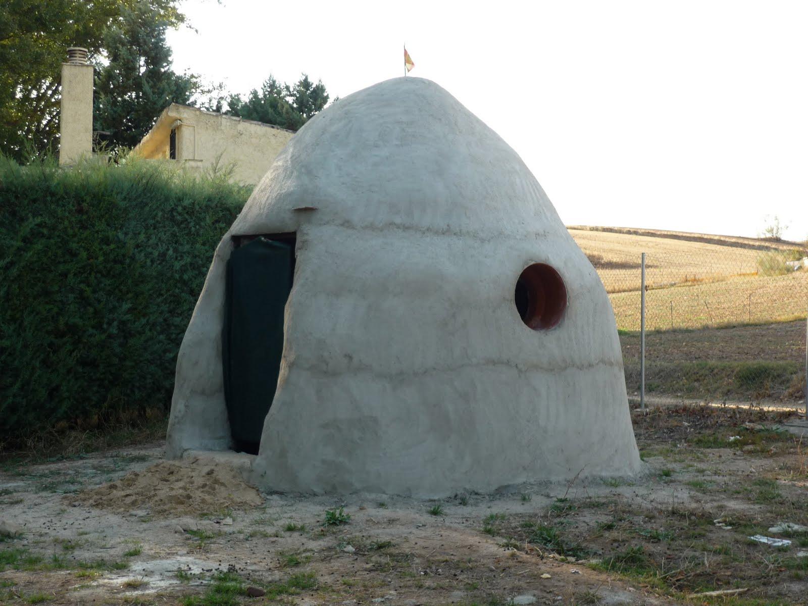Refugio permanente con superadobe Imagen+072