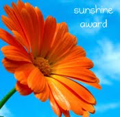My sunshine blog award
