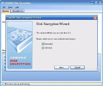 Comodo Disk Encryption 1.2.1