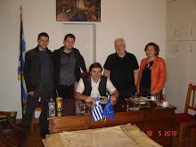 ... συναντησαμε τον  δραστηριο Αθανασιο Καβουρινο Δημαρχο Λεβιδιου,